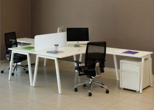 Crescent Bench Desk