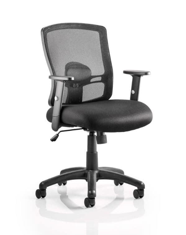 Porto Mesh Office Chair – Black