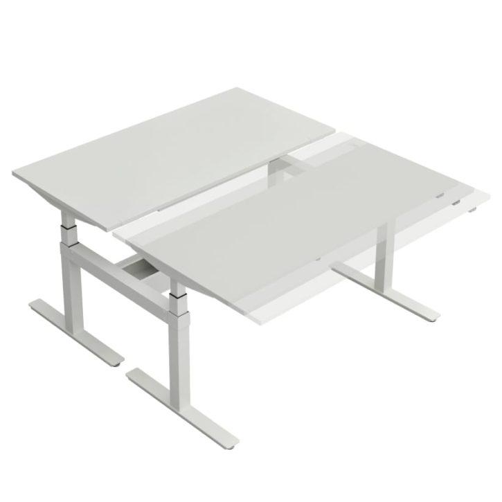Winglet Italian Sit-Stand Bench Desk