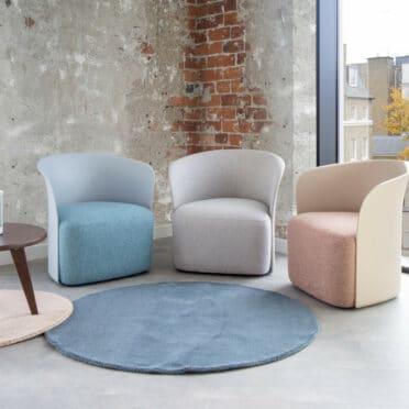 Teo single tub chair