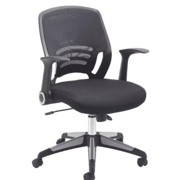 Mesh back swivel task chair