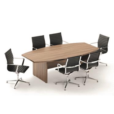 Regent Traditional Walnut Boardroom Table